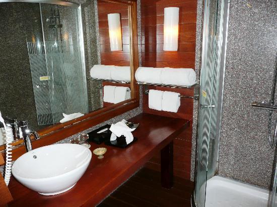 Green Plaza Hotel: bathroom