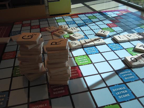 Mississippi Children's Museum: Life Size Scrabble Board