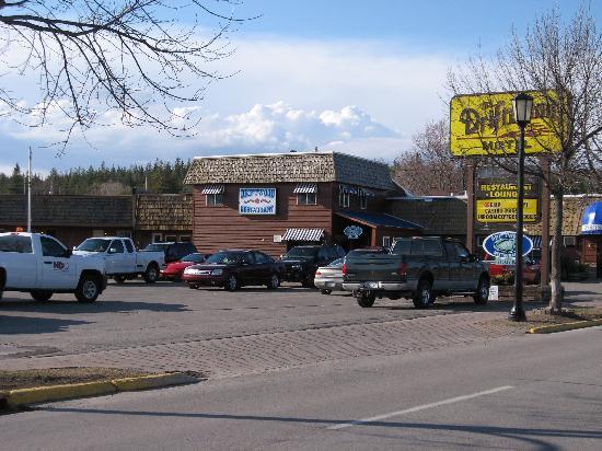 Driftwood Motel: Restaurant