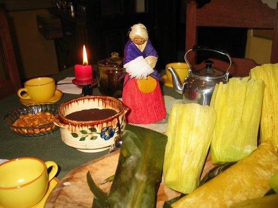 El maíz es la principal comida de La Abuela Rosa