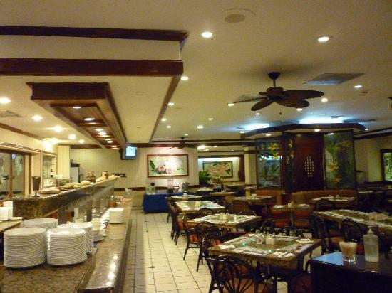 Dining room at Aurola Hotel Holiday Inn