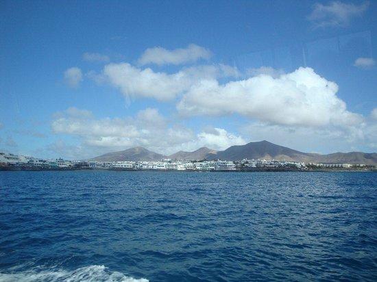 Isla de Lobos : 03- Lanzarote, Playa Blanca