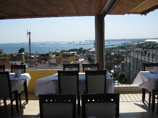 Abella Hotel: terrace