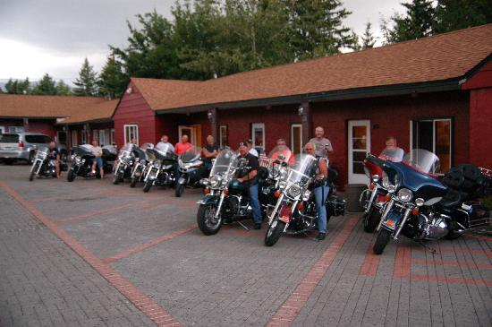 The Red Lodge Inn: Bikers welcome!
