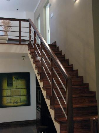 Guest House at Terrazas de los Andes Winery: The part of the house that accommodates the bedrooms
