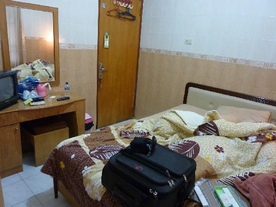 Kristina Hotel: Double rooms with all my stuff