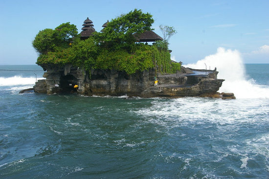 Nusa Dua Peninsula, Indonesien: Tanah lot at morning