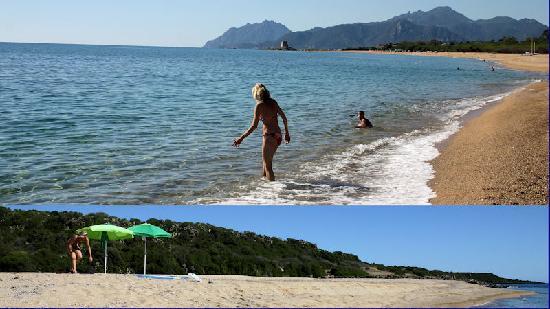 Domus De Janas Beach Resort: la spiaggia