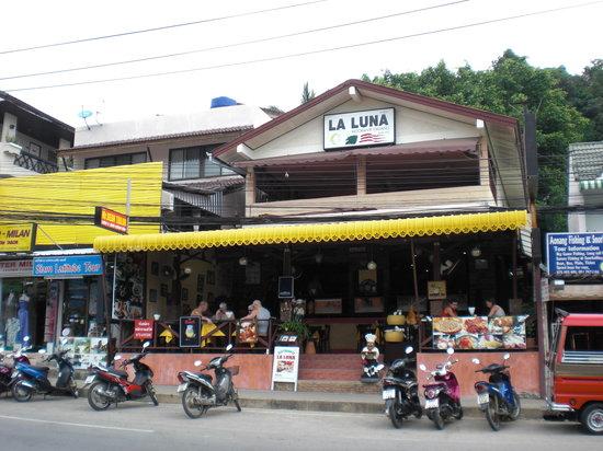 La Luna Italian Restaurant: Esterno del ristorante La Luna