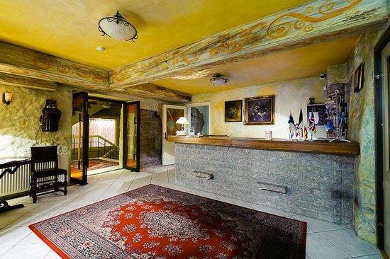 Taanilinna Hotell : Taanilinna Hotel Reception