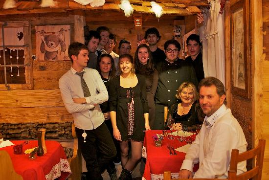 Hotel Chalet d'Alizee : L'equipe 2011