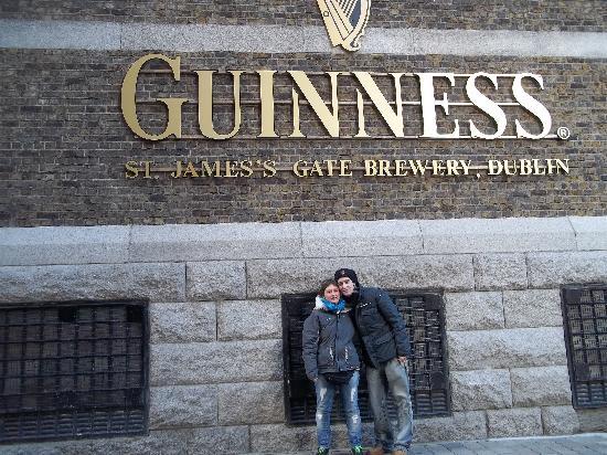 Dublín, Irlanda: fabbrica della guinnes