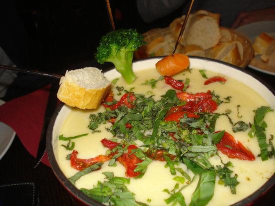 Dubbel Restaurant: Try the Cheesefondue!