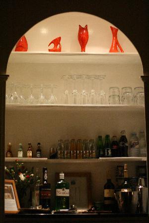 Royal Harbour Hotel: the honesty bar