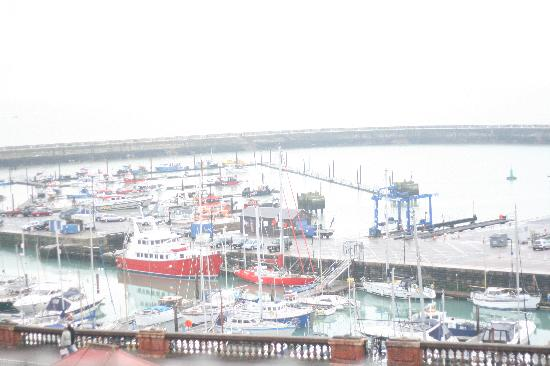 Royal Harbour Hotel: a view from the bedroom window