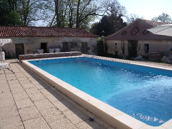 Chateau de Fayolle: Lovely outdoor pool