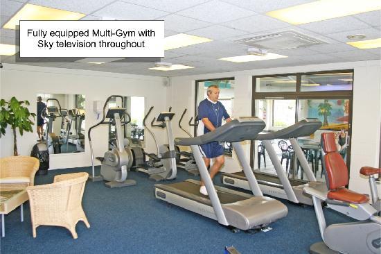 Patrington Haven Holiday Caravan Park East Yorkshire Fitness suite & gym