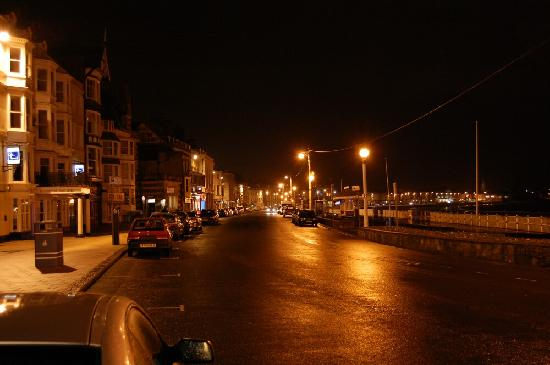 The Bourneville: The Esplanade at night