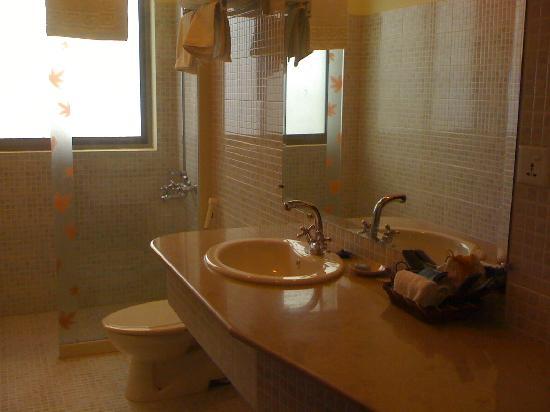 Avari Xpress Islamabad: Clean bathroom.