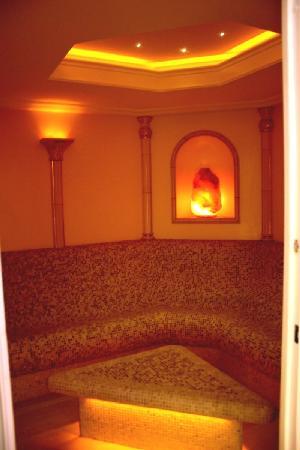 Wellness-und Landhotel Prinz: Salzstein-Tepidarium