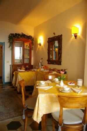 particolare sala colazione