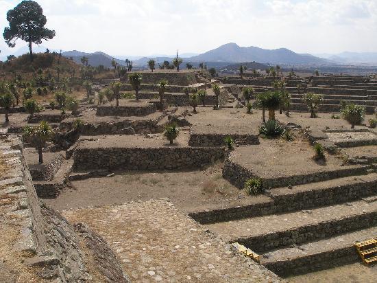 Cantona Archaeological Ruins : an impressive view