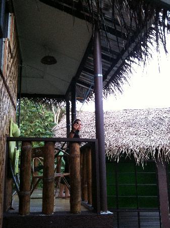 Adeline Villa & Rest House: Balcony of the villas