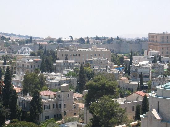 Leonardo Plaza Hotel Jerusalem: room view