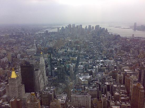 New York Vista Dall Alto Foto Di New York City New York