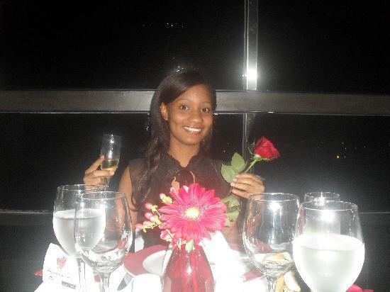 Dominican Fiesta Hotel & Casino: en la cena