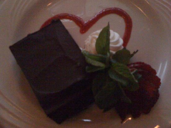 Whispering Pines Bed and Breakfast : Valentines Day Entree