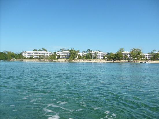 Hotel Riu Negril: Hotel vue sur l'eau