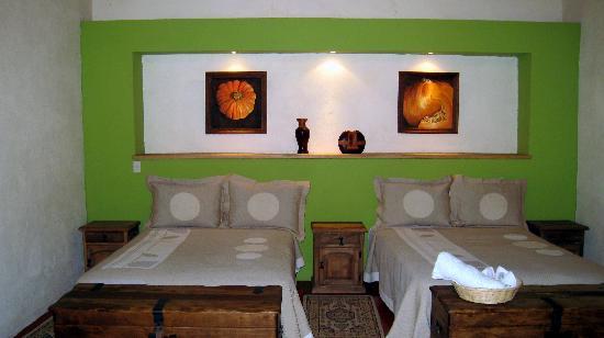 Casa Limonchelo : chbre double avec salle de bain et wc