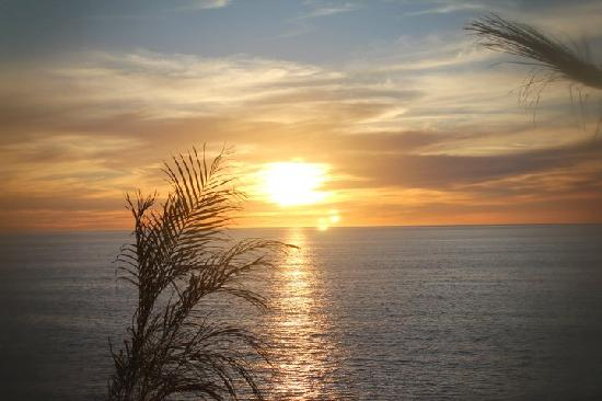 Arriba de la Roca: Sunset from the patio