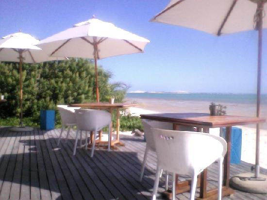 Benguerra Island, Mozambique: Beach bar