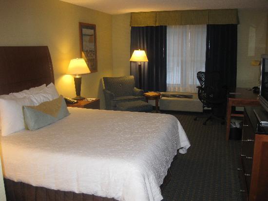 Hilton Garden Inn Milford : Great bed