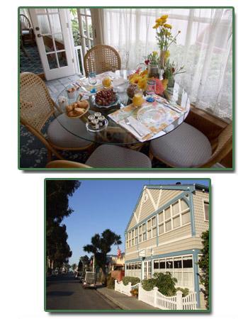 The Old Turner Inn: Full, Hot Breakfast featuring Catalina Island Granola!