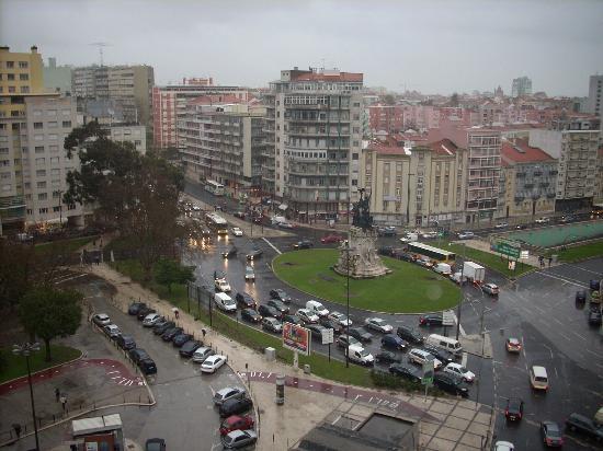 NH Lisboa Campo Grande: Vistas desde hab.