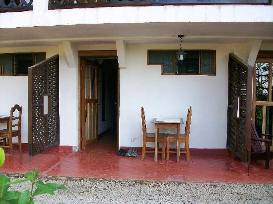 Hotel Samara Pacific Lodge: la pte terrasse privative