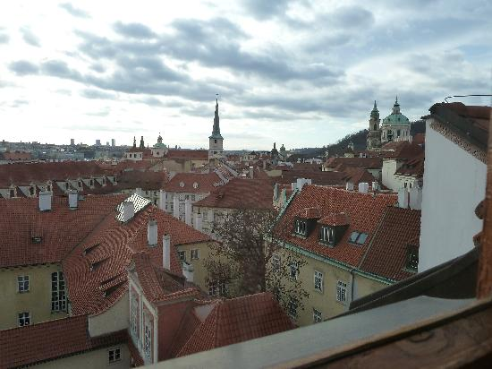 Golden Well Hotel: vue sur prague