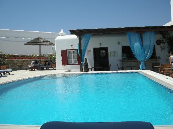 Domna Petinaros Apts Hotel Mykonos: PISCINA DOMNA PETINAROS