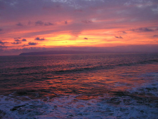 Pavones, Costa Rica: Sunset