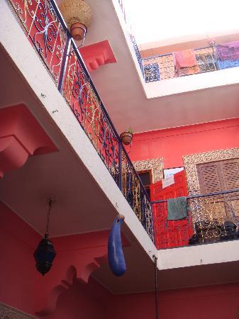 Hostel Riad Marrakech Rouge: bohemian decor