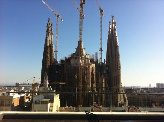 View from roof top terrace picture of ayre hotel - Hotel ayre rosellon en barcelona ...