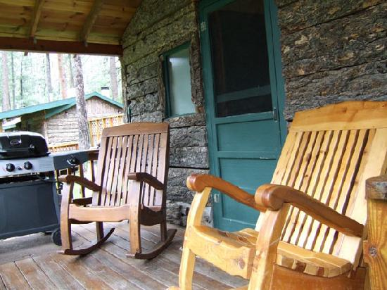 Rocking Chairs Forest Home Cabins Ruidoso