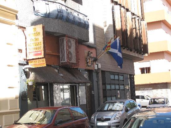 El Rincon de las Paellas: Fachada del Rincón de las Paellas