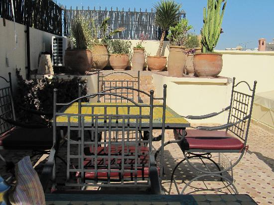 Riad Maison Belbaraka: roof terrace
