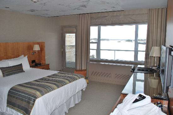 Gravenhurst, Canadá: Signature Room - Lake View