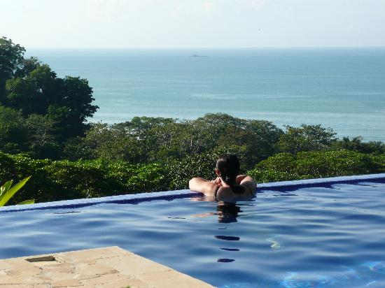 TikiVillas Rainforest Lodge & Spa: infinity pool