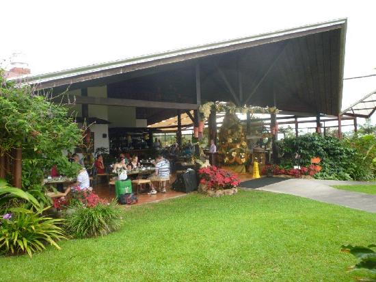 Arenal Springs Resort and Spa: The entrance to the Ti-Cain Restaurant
